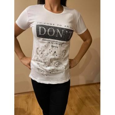 Ръчно рисувана тениска To com to an and