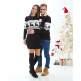 Зимни пуловери за двойки