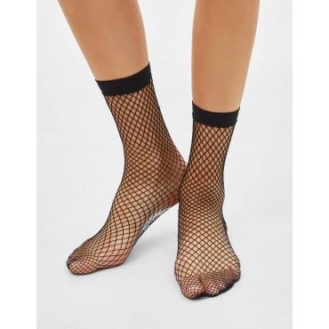 Къси чорапи мрежа, BERSHKA