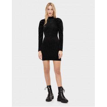 Модна ефектна рокля, размер М, BERSHKA