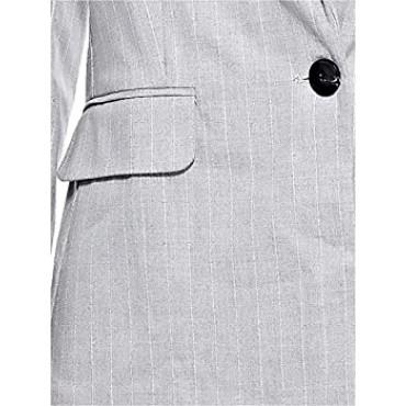 Дамско сако с едноредово закопчаване, размер XS, BERSHKA