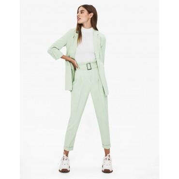 Дамски панталон с колан с катарама, номер 38, BERSHKA