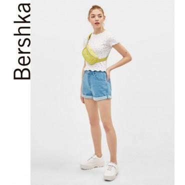 Къси дънкови панталонки, номер 36, BERSHKA