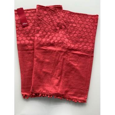 "Дамски шал, тип ""Снуд"", червен, S.OLIVER"