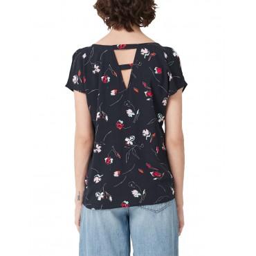 Блуза с остро деколте, номер 34, S.OLIVER