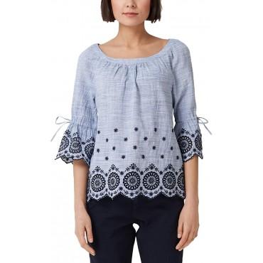 Блуза с подгъв фестон, номер 44