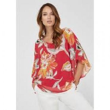 Шикозна дамска блуза на цветя, номер 36, S.OLIVER