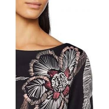 Стилна дамска рокля на цветя COMMA, номер 40, S.OLIVER