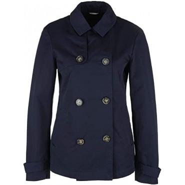 Дамско яке с двуредно закопчаване, синьо, номер 38, S.OLIVER