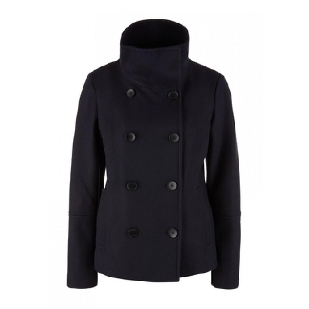 Дамско палто с двуредно закопчаване, номер 36