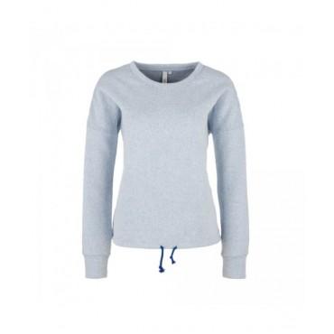 Дамски пуловер с шнур в подгъва,Q/S, размер М