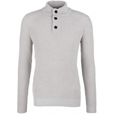 Мъжки сив пуловер, размер L, s.Oliver