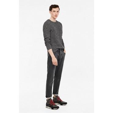 Мъжки пуловер графит, Q/S, размер М
