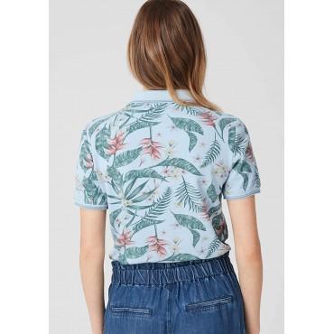Дамска блуза с яка, номер 46