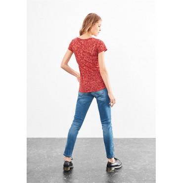 Дамска тениска N. Y., Q/S, размер L