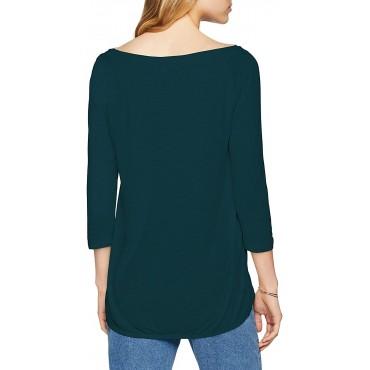 Блуза с лодка деколте, Q/S,  размер XL, S.OLIVER