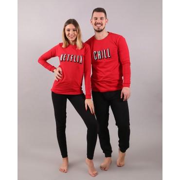 пижами NETFLIX CHILL