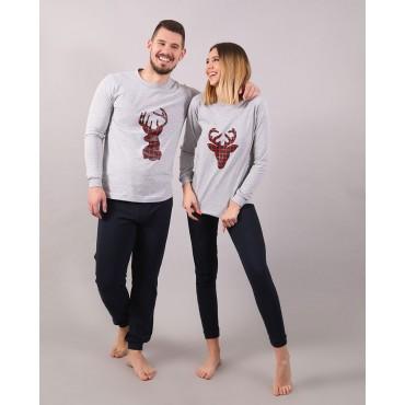 пижами CHRISTMAS DEER