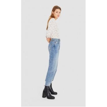 Дамска блуза с дълги ръкави, размер S