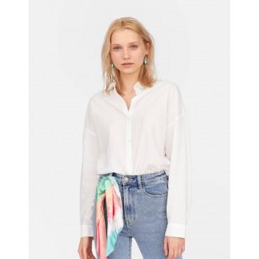 Дамска риза с дълги ръкави, свободна кройка, размер XS, STRADIVARIUS