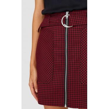 Дамска къса пола с цип, номер 32